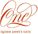 one queen anne's gate logo